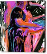 Sterlin At Blue Nite Canvas Print