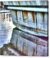 Stern Reflection 2384 Canvas Print