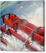 Sternwheeler Splash Canvas Print