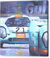 Steve Mcqueen Le Mans Porsche 917 01 Canvas Print