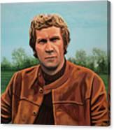 Steve Mcqueen Painting Canvas Print