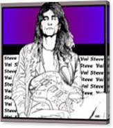 Steve Vai Sitting Canvas Print