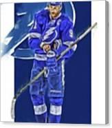 Steven Stamkos Tampa Bay Lightning Oil Art Series 2 Canvas Print