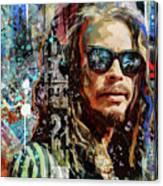 Steven Tyler Tribute Canvas Print