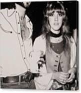 Stevie Nicks And Lindsey Buckingham Canvas Print