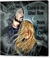 Stevie Nicks - Dave Grohl Canvas Print