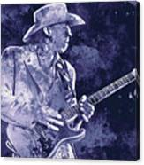Stevie Ray Vaughan - 02 Canvas Print
