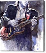 Stevie Ray Vaughan 1 Canvas Print