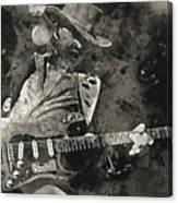 Stevie Ray Vaughan - 13  Canvas Print
