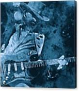 Stevie Ray Vaughan - 14 Canvas Print