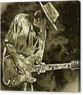 Stevie Ray Vaughan - 19 Canvas Print