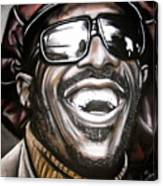 Stevie Wonder Canvas Print
