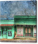 Stewards General Store And Post Office Canvas Print