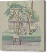Stewart House Canvas Print