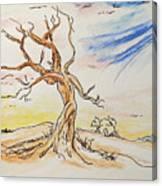 Stick Season Canvas Print
