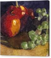 Still Apples Canvas Print