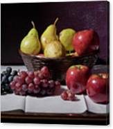 Still Life After Monet Canvas Print