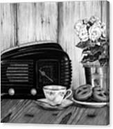 Still Life, Breakfast Canvas Print