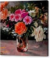 Still-life For Anne Catus 1 No. 1 H A Canvas Print