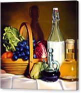 Still Life In Oil Canvas Print