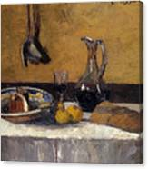 Still Life Nature Morte Canvas Print