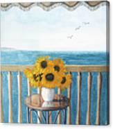 Still Life On A Patio Canvas Print