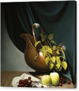 Still Life Painting Zanndam Evening Canvas Print
