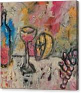 Still Life with Bottle Canvas Print