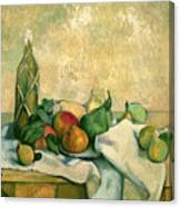 Still Life With Bottle Of Liqueur Canvas Print