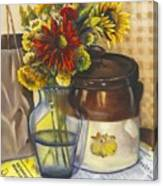 Still Life With Brown Paper Sack Canvas Print