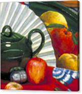 Still Life With Citrus Still Life Canvas Print