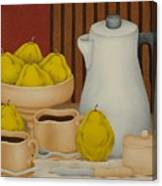 Still Life With Coffee Pot  2005 Canvas Print