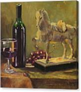 Still Life With Horse Canvas Print