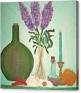 Still Life With Lilac Canvas Print