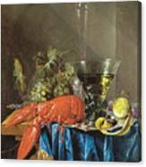 Still Life With Lobster 1655 Canvas Print