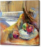 Still Life With Onions Canvas Print