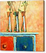 Still Life With Poppies Canvas Print