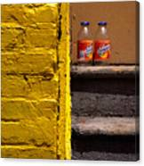 Still Life With Snapple Canvas Print