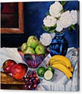 Still Life With Snowballs Canvas Print