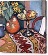 Still Life With Sunflowers II Canvas Print