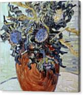 Still Life With Thistles Canvas Print
