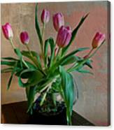 Still Life With Tulips Canvas Print