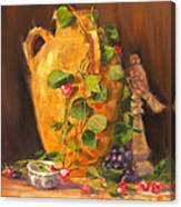 Still Life With Urn Canvas Print