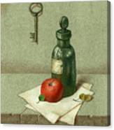 Still Life With Vial Canvas Print