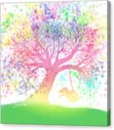 Still More Rainbow Tree Dreams 2 Canvas Print
