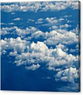 Still Riding The Clouds 3 Canvas Print