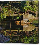 Still Water Reflections Canvas Print