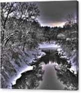 Stillwater Creek Canvas Print