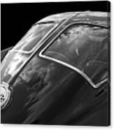Stingray Split Window 1963 In Black And White Canvas Print