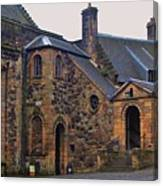 Stirling Castle Courtyard, Scotland Canvas Print